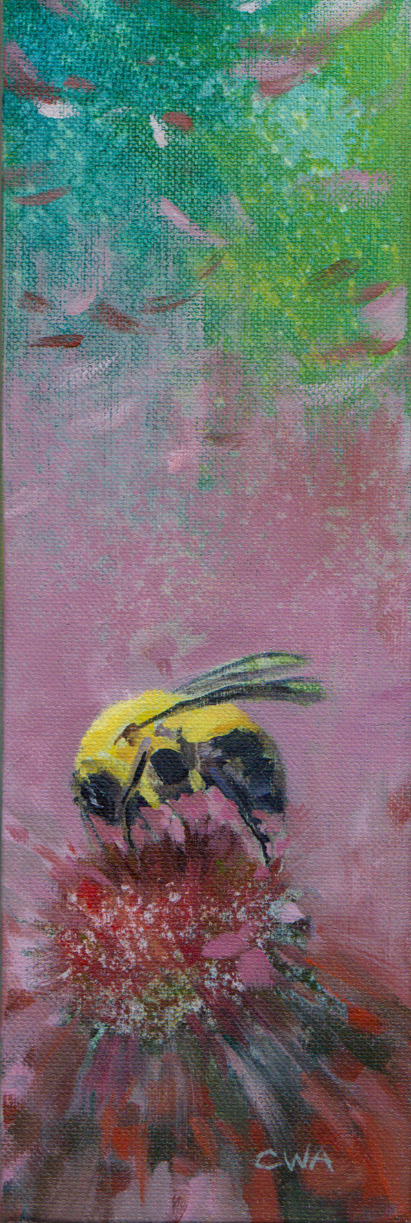 Bee on Flower long format