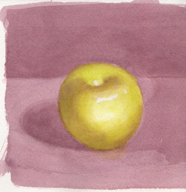 apple watercolor course at 596